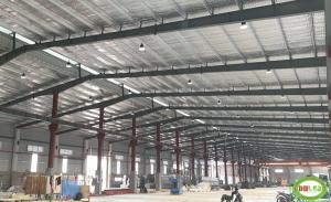 Dự án lắp đặt hệ thống đèn led xưởng nhà máy thép
