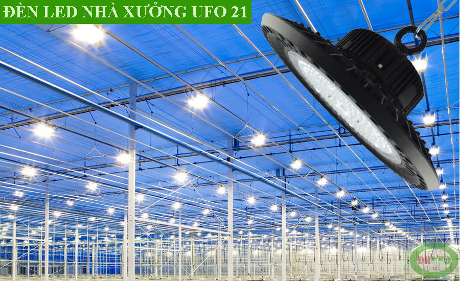 Đèn led nhà xưởng 200W UFO21
